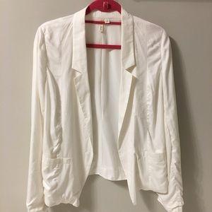 Frenchie white blazer
